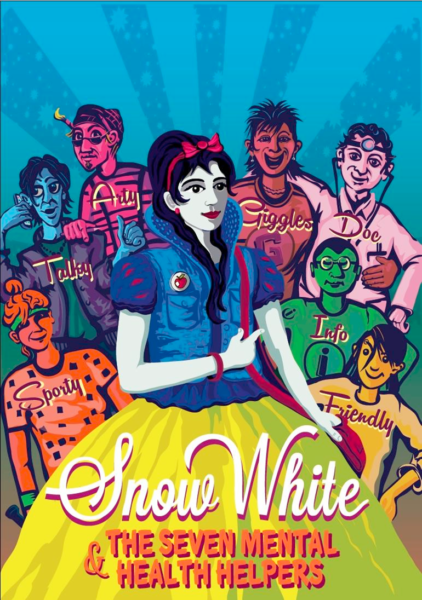 Snow White and the 7 Mental Health Helpers