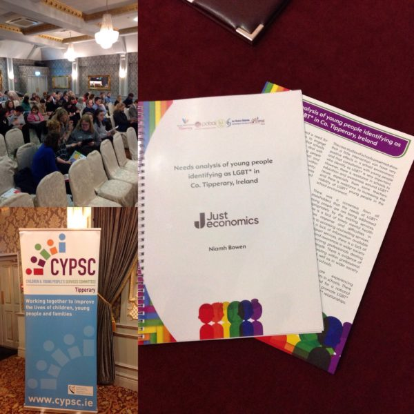 Report on needs of LGBT+ young people in Tipperary launched