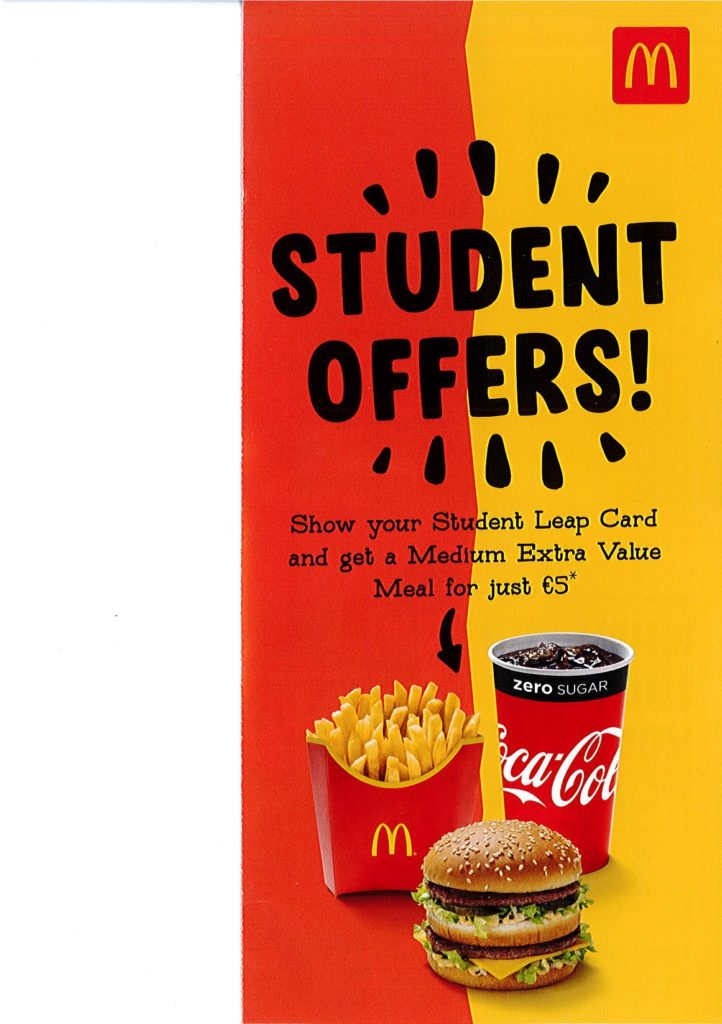 Student Offers!