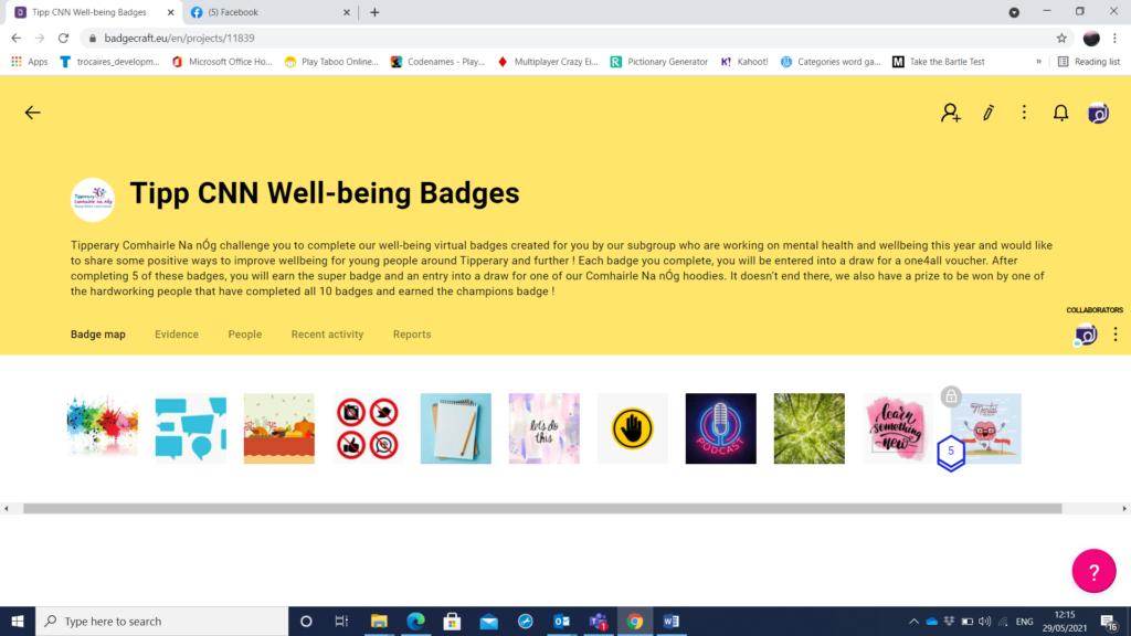 Tipp CNN Well-being Badges